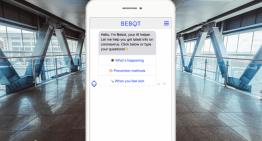 AIチャットボット「Bebot」、新型肺炎に関する情報提供を3月末まで延長