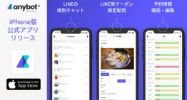 スマホでLINE公式アカウントを運用、anybot公式アプリの提供を開始